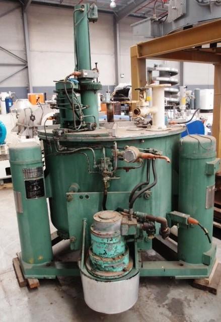 Tolhurst 40 x 24 perforate basket centrifuge, SS.