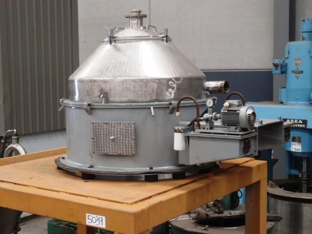 Sharples M-410 Cone-Jector centrifuge, SS.