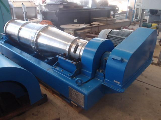 Humboldt S 3-01 solid bowl tricanter centrifuge, 316SS.