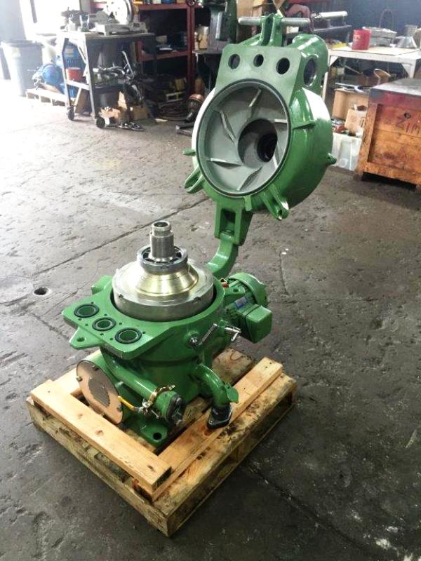 NEW: Westfalia OTA 14-00-066 oil purifier, SS.