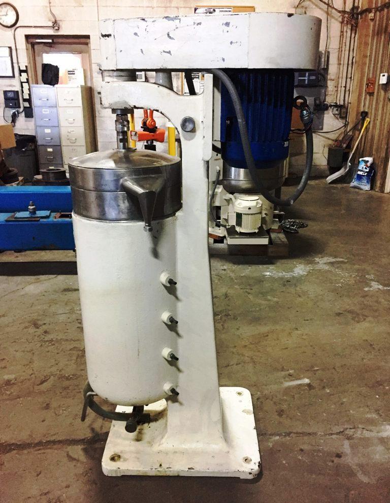 Cepa Z101H tubular bowl centrifuge, 316SS.