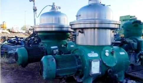 Westfalia SA 40-06-076 clarifier centrifuge, 316SS.