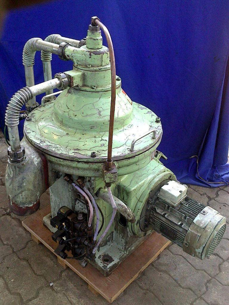 Mitsubishi SJ-10G self-cleaning oil purifier, SS bowl.