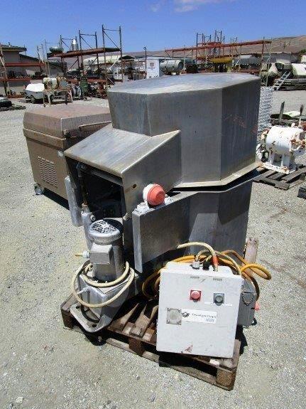 """Heinzen SD-50 14 x 20"""" lettuce spin dryer, SS."""
