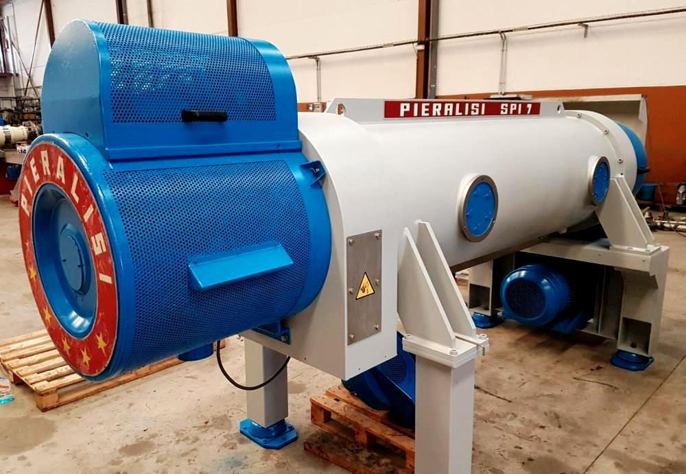 Pieralisi Jumbo SPI 7 decanter centrifuge, 316SS.