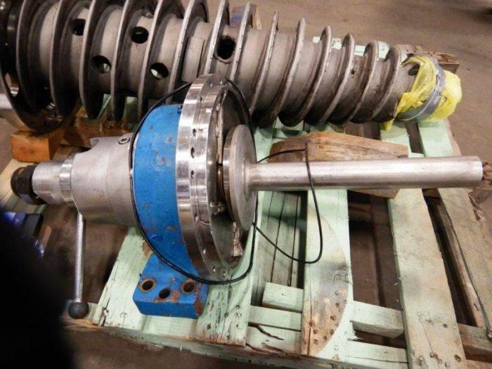 Flottweg Z32-3/401 solid bowl decanter centrifuge, 316SS.