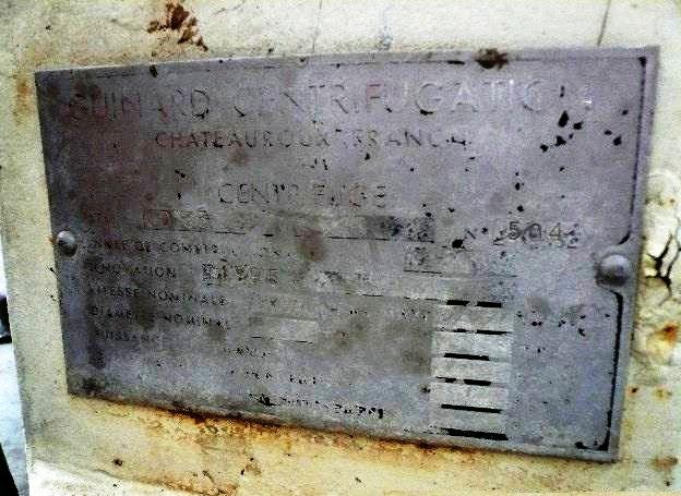 Guinard D33 decanter centrifuge, SS.