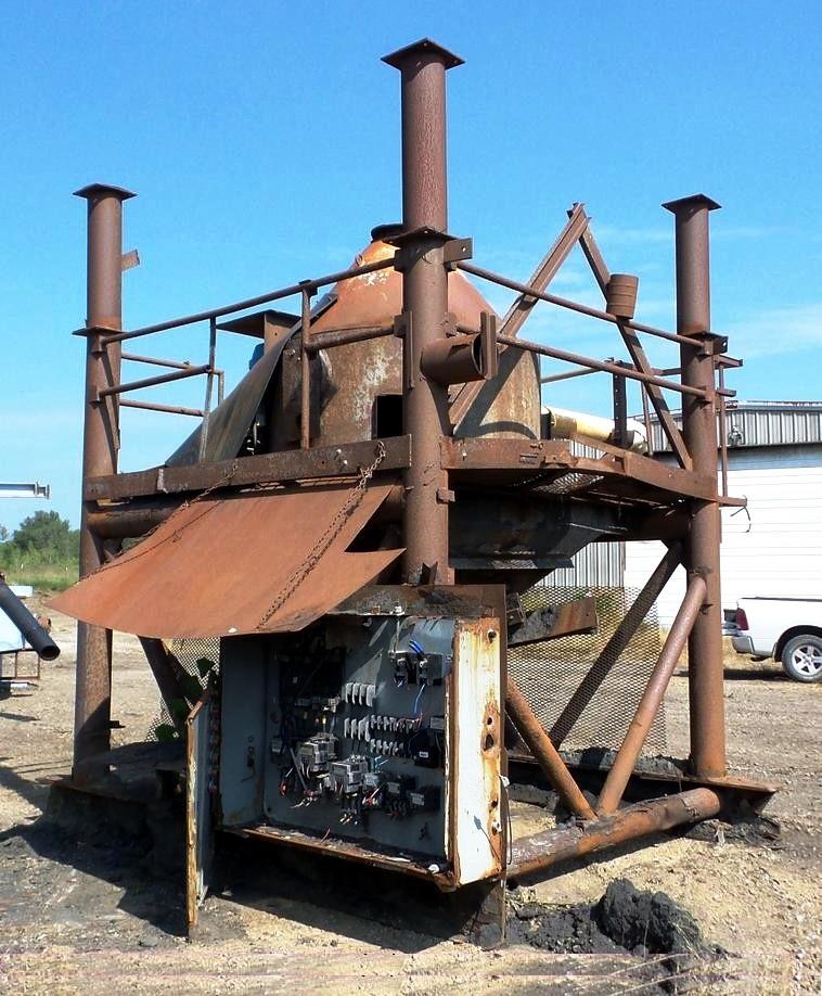 CMI EBWB-36 fine coal drying centrifuge, CS.