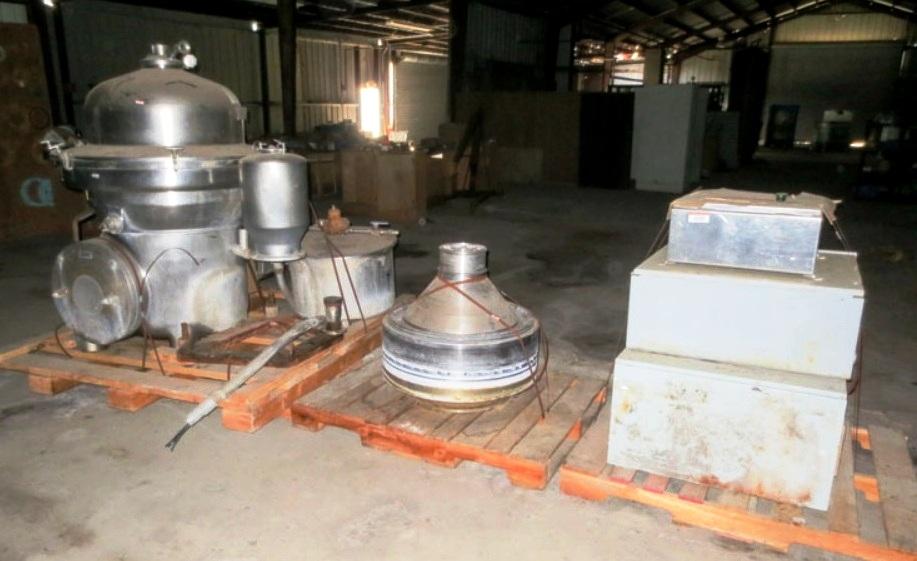 Westfalia MSA 100-01-076 milk separator, 316SS.