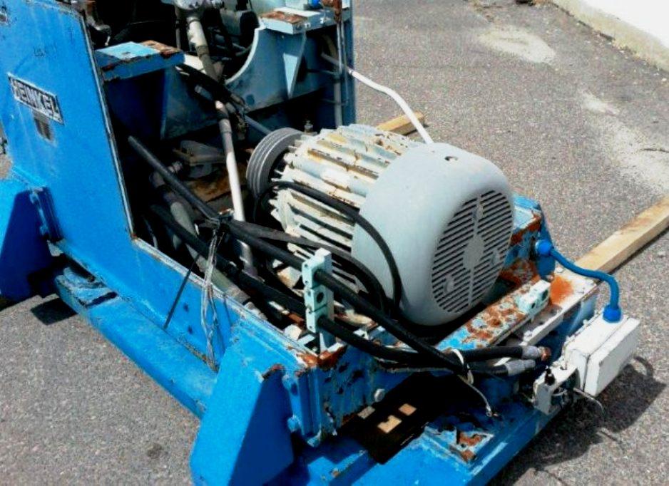 Heinkel HF 600 Inverting Filter centrifuge, Hastelloy C4.