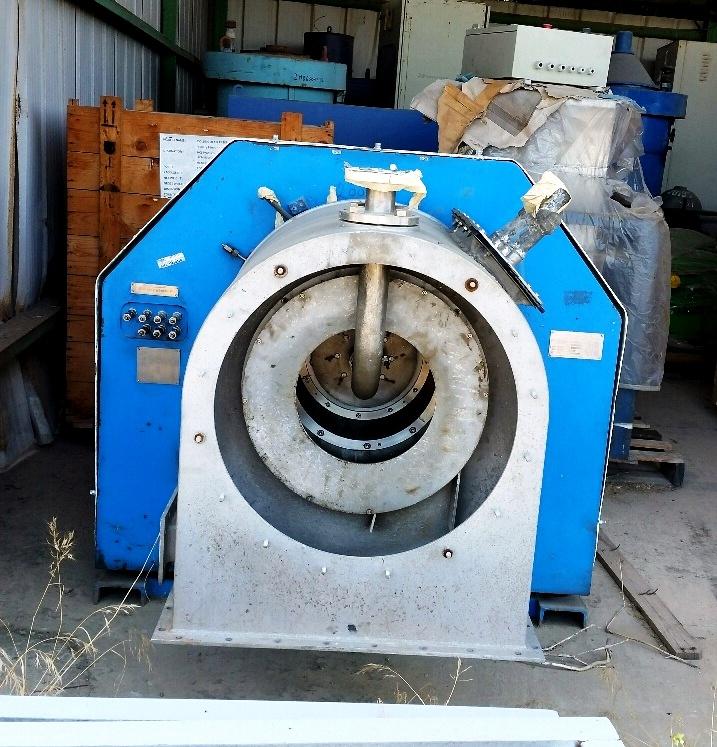 Andritz KMPT SZ 400/2 pusher centrifuge, 316SS.