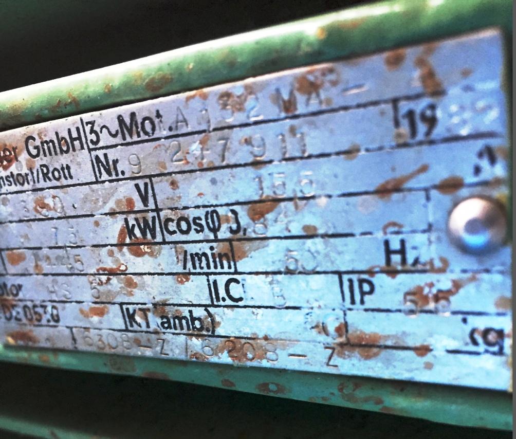 Westfalia SA 14-47-076 hermetic clarifier, 316L SS.