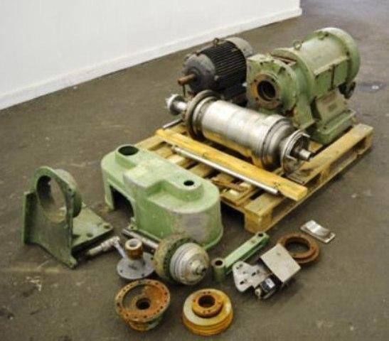 Westfalia CA 220-00-00 decanter centrifuge, 316SS.