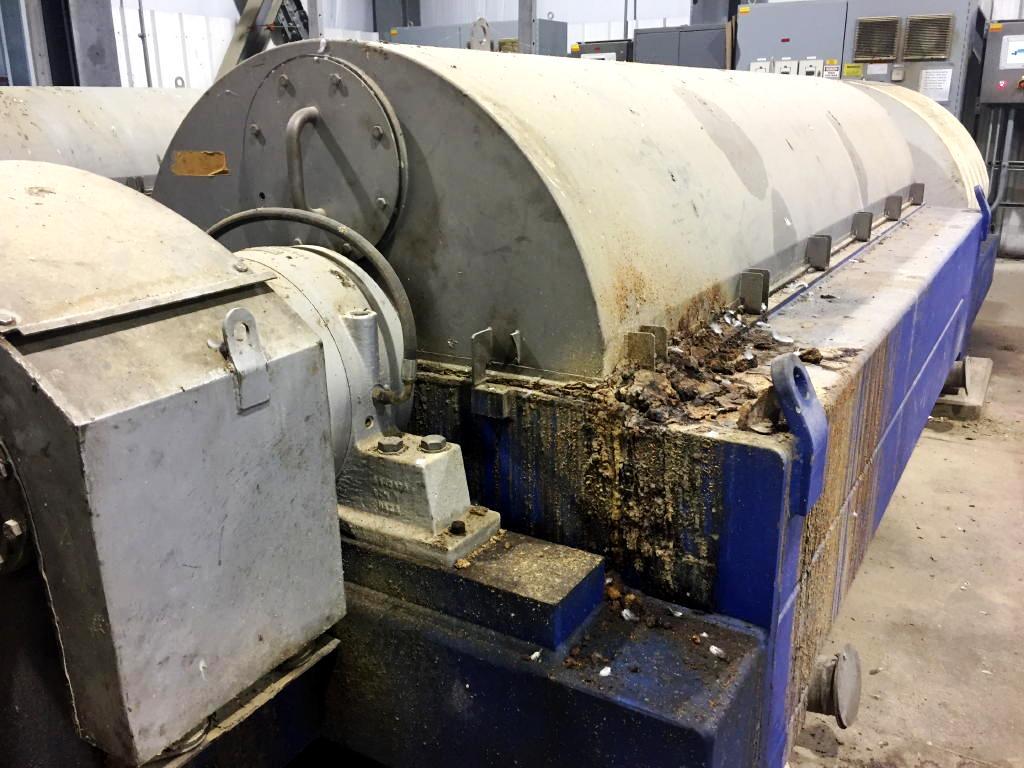 (4) Alfa-Laval SG2-800 (NX 706) decanter centrifuges, 316SS.