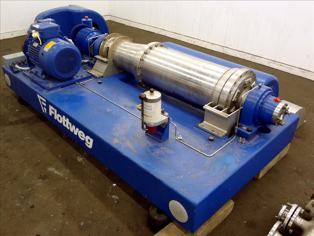 Flottweg Z32-4/451 decanter centrifuge, 316SS.