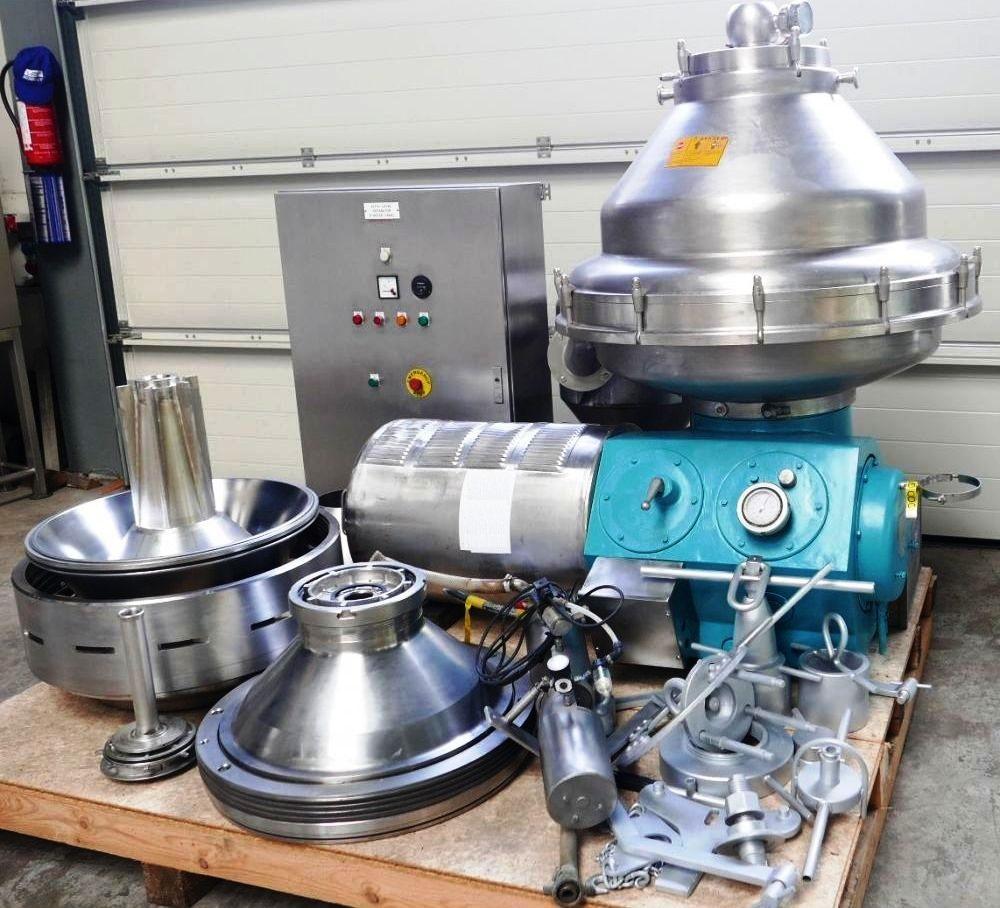 Alfa-Laval BRPX 317 SFV-34C clarifier, 316SS.