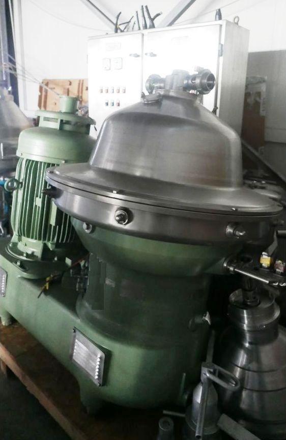 Westfalia SB 80-36-177 clarifier centrifuge, 316SS.