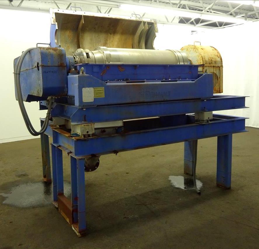 Sharples P3400 BD2 Super-D-Canter centrifuge, 316SS.