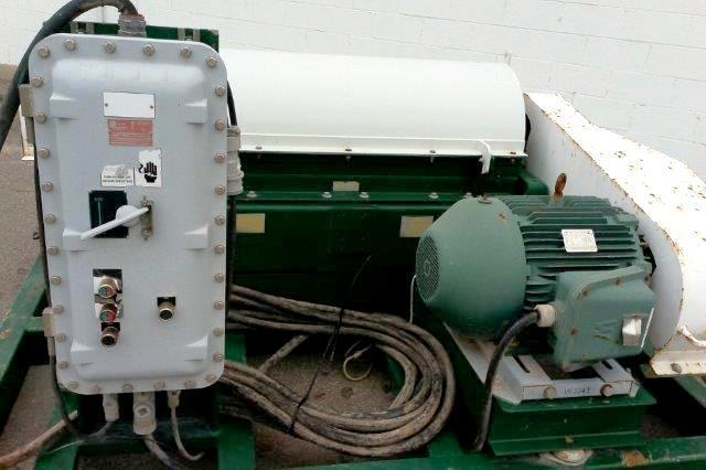 Sharples P3400 XP oilfield skid, 316 SS.