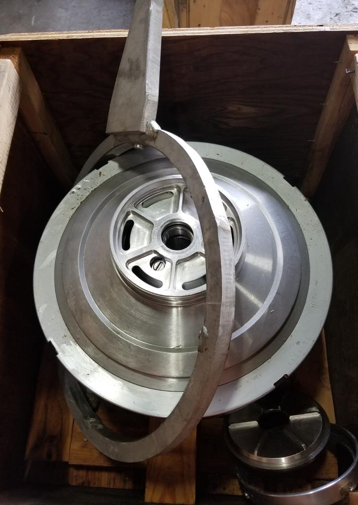 Westfalia BKA 28-86-576 centrifuge, 316SS.