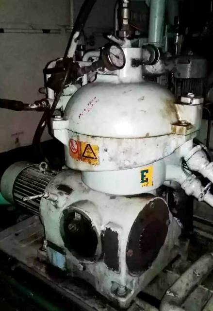 (2) Westfalia OSC 5-02-066/4 fuel oil purifiers, SS.
