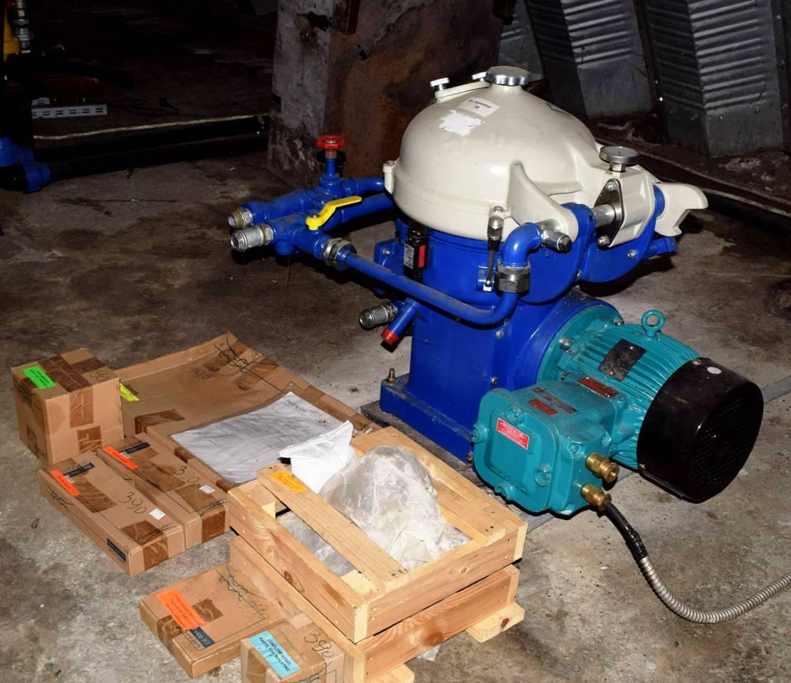 NEW: Alfa-Laval BDB 104B-14CY oil purifier, SS.
