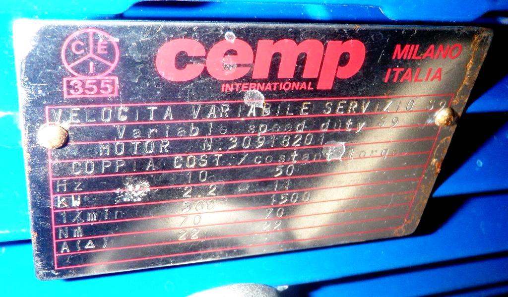 Comi-Condor ALFA/S-IV 1250mm perforate basket, 316SS.