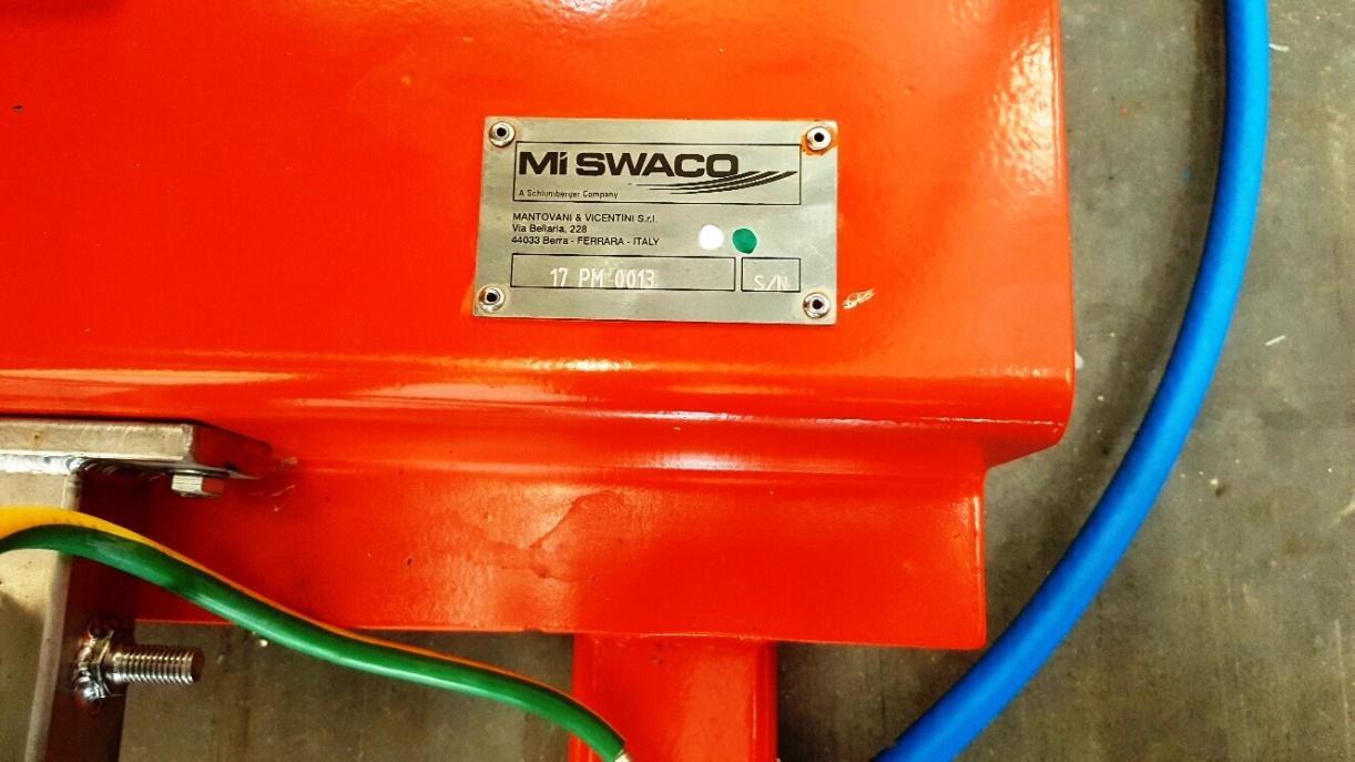 Swaco 518 FH HV oilfield decanter centrifuge, 316SS.