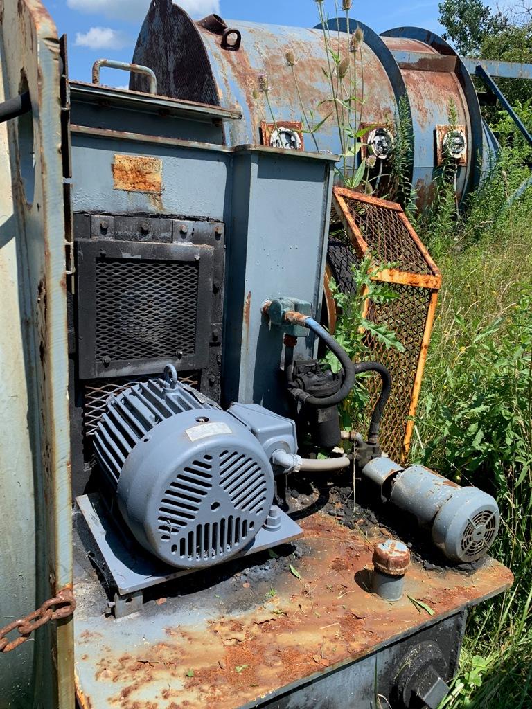 McNally-Wedag A-250 vibrating screen coal dryer, CS.