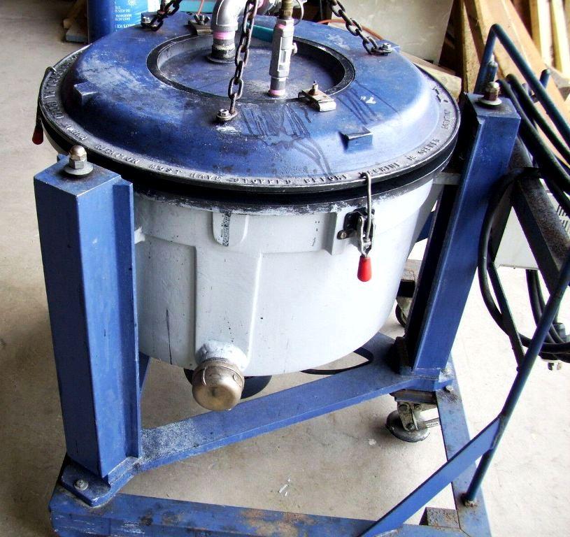 Lavin 20-1160V (20 x 9) perforate basket centrifuge, 316SS.