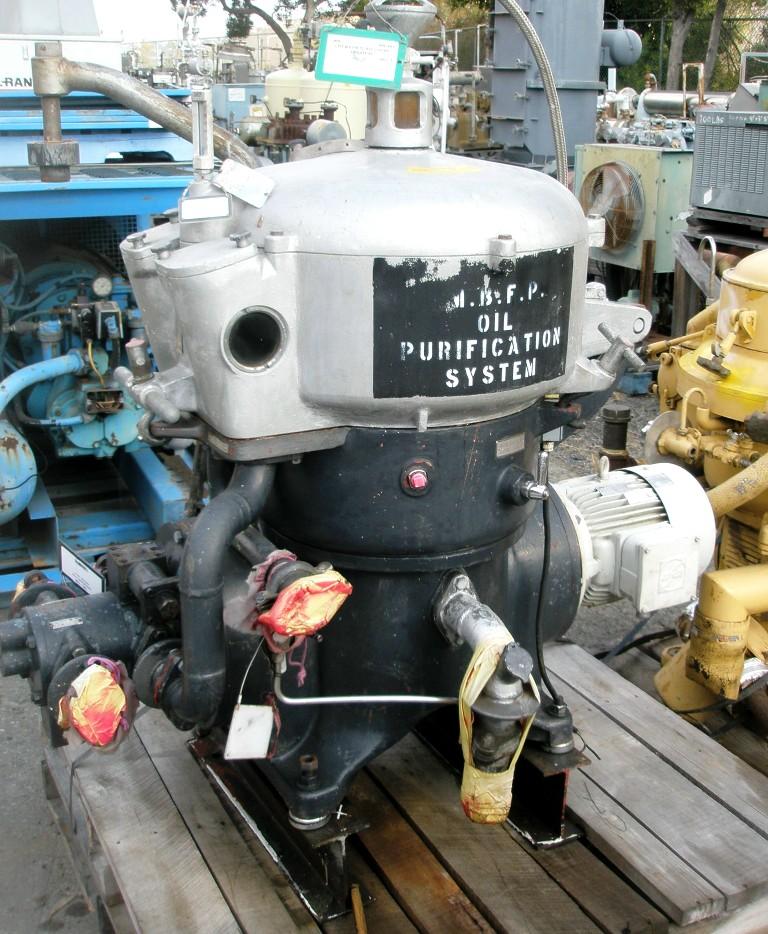Westfalia OTA 18-00-066 oil purifier, SS.