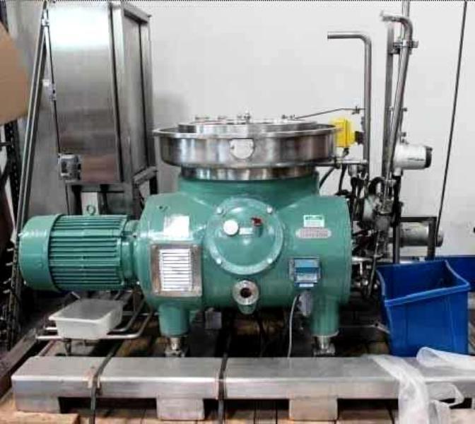 Westfalia RSA 60-01-076 vegetable oil separator, 316SS.