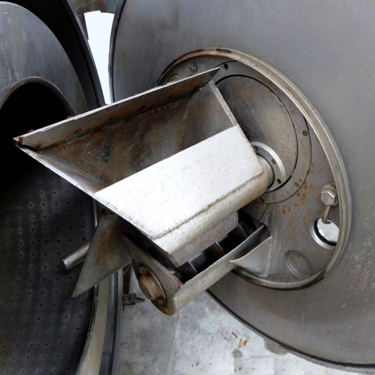 Escher-Wyss H-100 peeler centrifuge, SS.