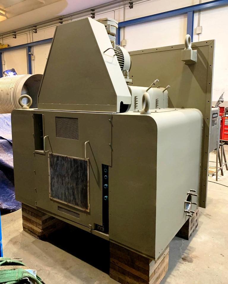 Rousselet Robatel EHBL-1053-DRG peeler centrifuge, 316L SS.