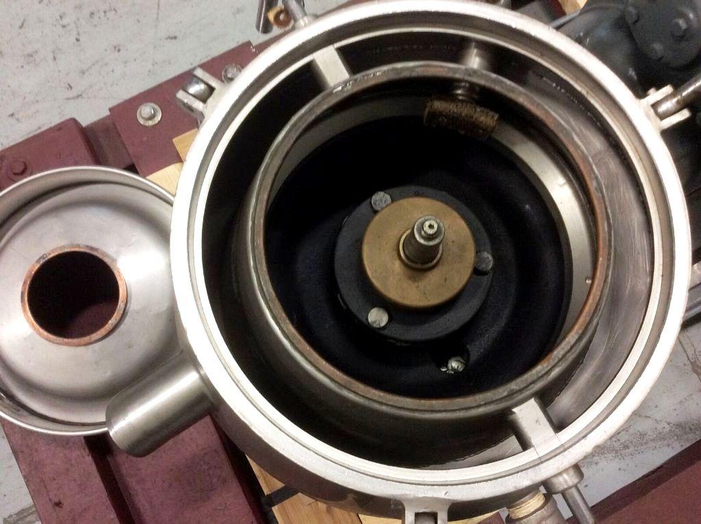 Westfalia SKOG 205 lab nozzle centrifuge, NO BOWL.