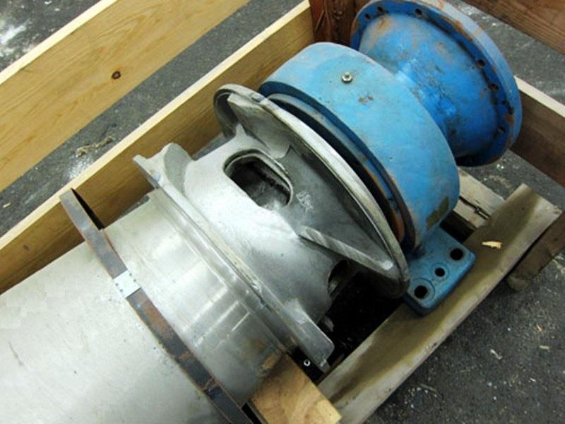 Dorr-Oliver 16L rotating assembly, 316SS.