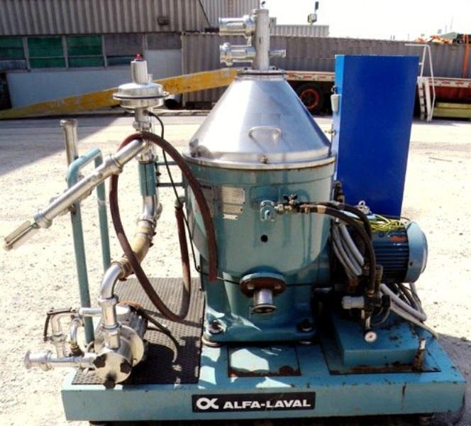 Alfa-Laval VNPX 407 SGT-34-50 clarifier centrifuge, 316SS.