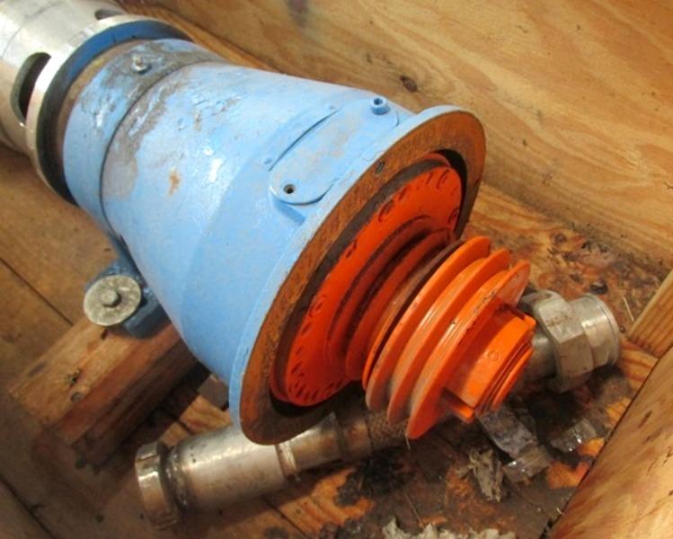 De Laval NX 207-31S decanter centrifuge, 316SS.