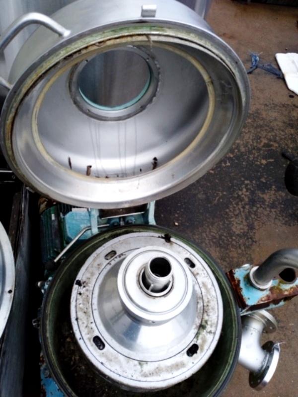 (3) Alfa-Laval TX 310S-34H-50 nozzle centrifuges, 316SS.
