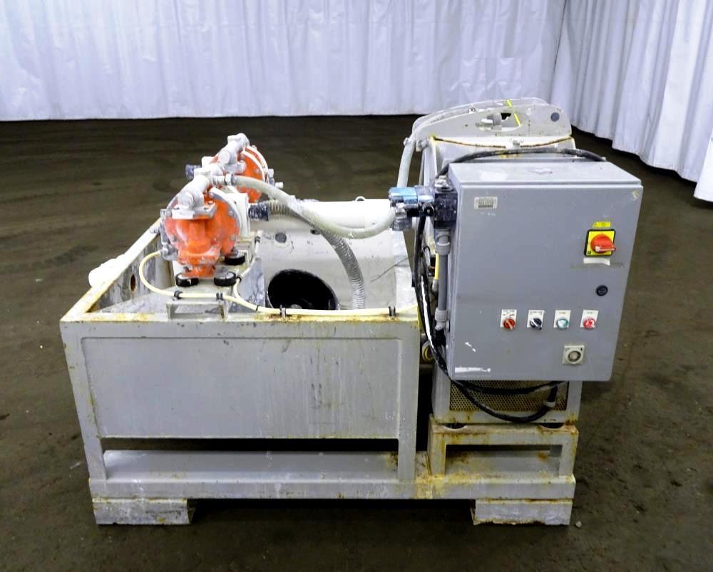 US Centrifuge M412 solid basket centrifuge.