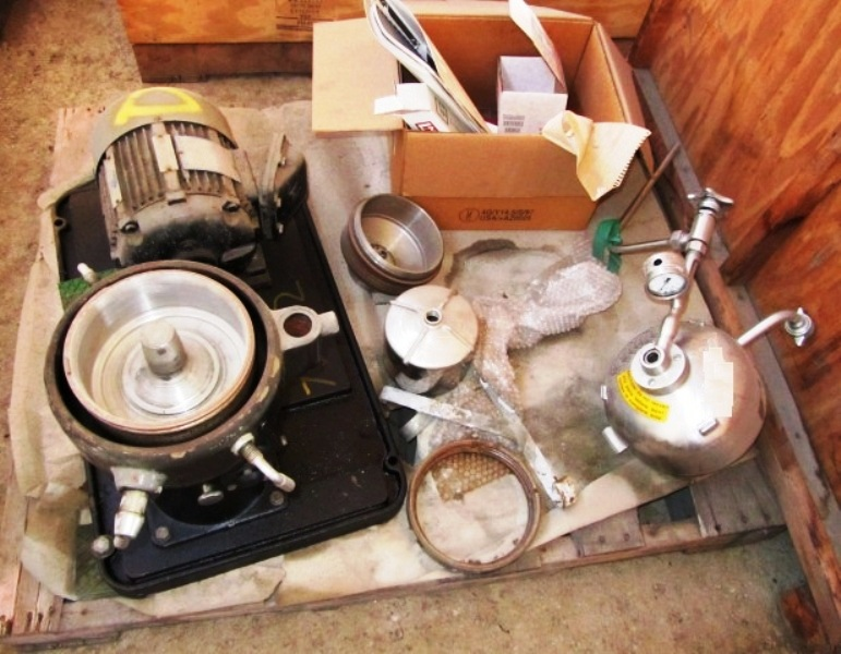 Westfalia KA 2-06-175 chamber bowl centrifuge, SS.