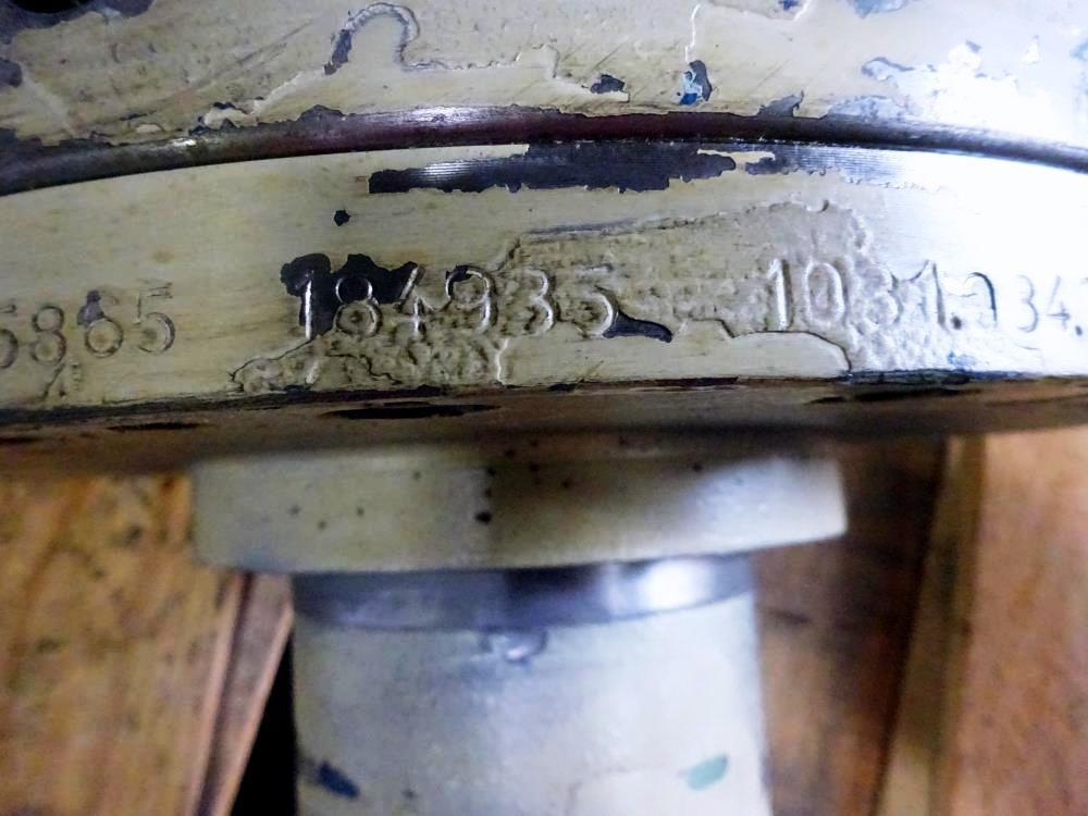 Flottweg Z4D-3 cyclo gearbox with spline shaft.