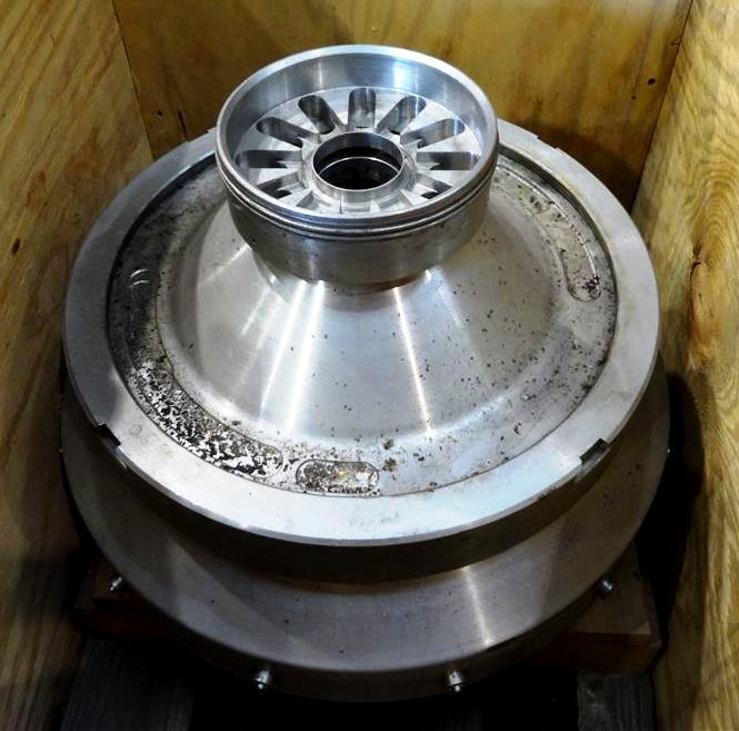 Alfa-Laval FEUX 412T-31C nozzle centrifuge, 316SS.