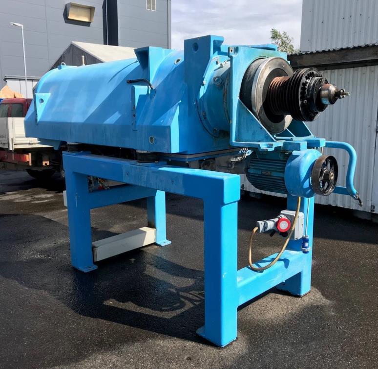 Westfalia CA 505-02-10 tricanter centrifuge, 316SS.