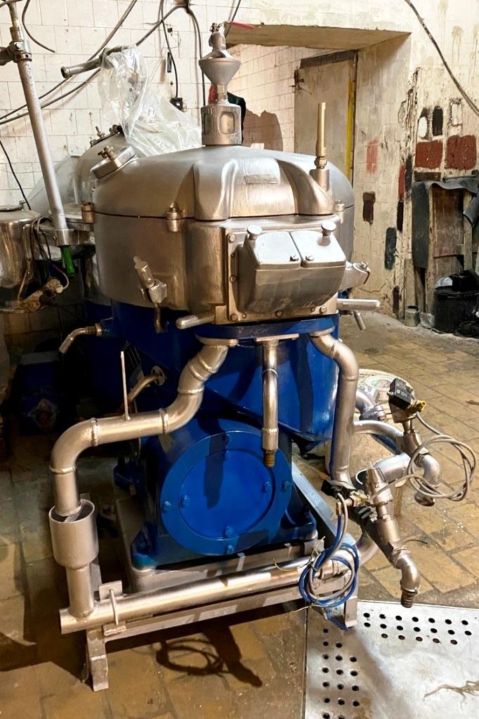 Westfalia SAOG 5016 oil purifier, SS.