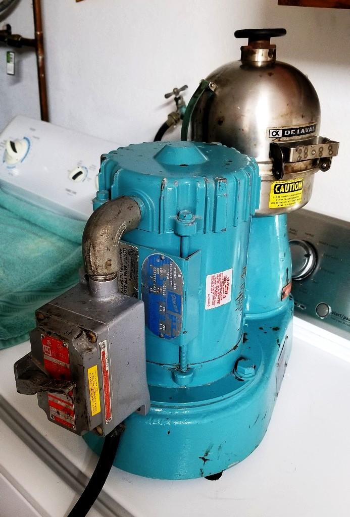 De Laval Gyro Tester centrifuge, 316SS.