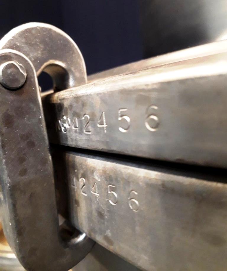 (2) Westfalia SAMM 12006 milk separators, 316SS.