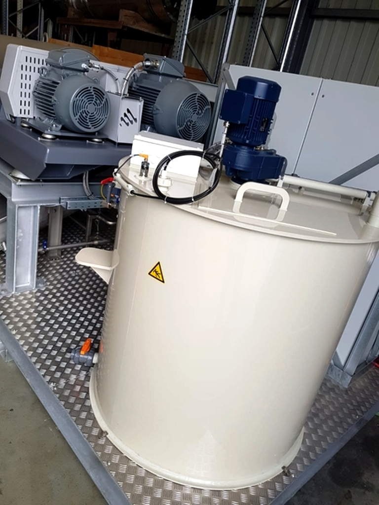 NEW: Hiller DP45N DecaSmart wastewater treatment plant, SS.