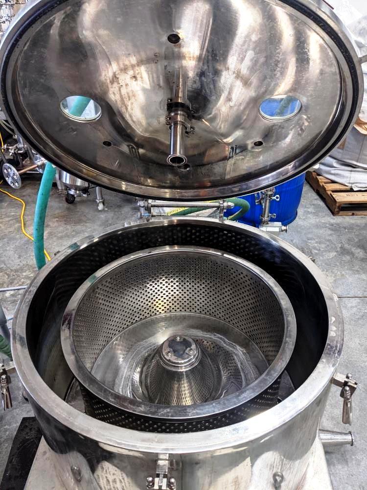 Curian ACE-30 sanitary hemp/alcohol extractor, 316SS.