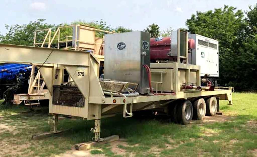 Kemtron KT-1448HD oilfield decanter centrifuge, SS.